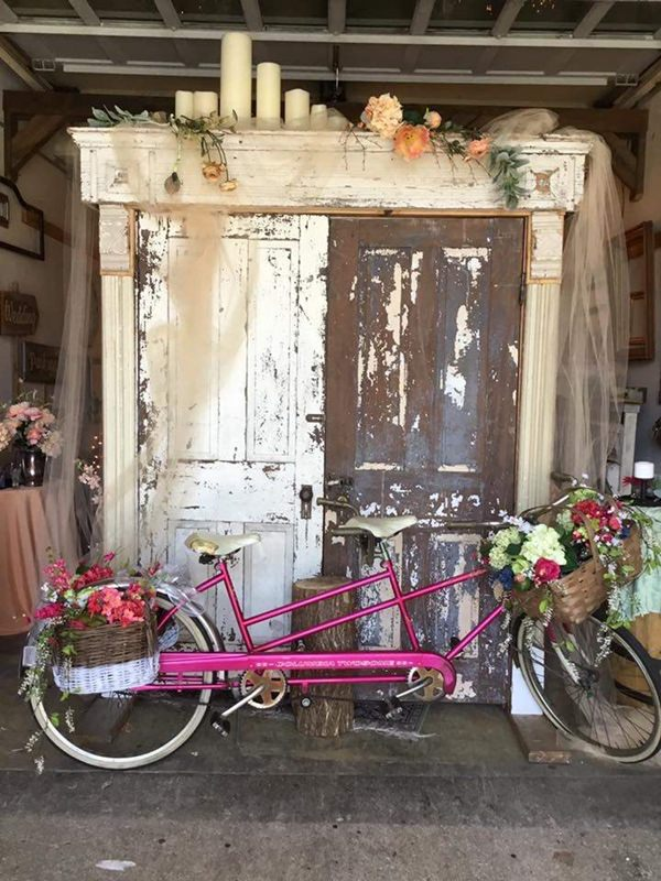 Vintage bicycle for two by Old Oaks Vintage Rentals